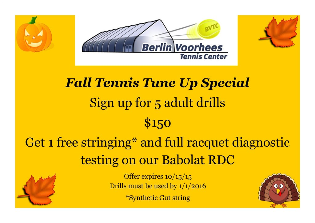 Fall Tune Up Special